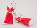 Zawieszka Charms Sukienka 3D